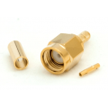 RP-SMA male Crimp Connector for LMR100/LLC100/RG-174 RF coaxial connector