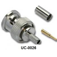 LINK BNC PLUG RG6 5C-2V CRIMP Type UC-0026