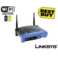 Linksys WRT54GL Wireless Router - 54Mbps, 802.11g, 4-Port, Open Source Linux Version