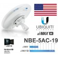 NBE-5AC-19, NanoBeam 5AC 5GHz Wireless-AC 19dBi Throughput 450+ Mbps