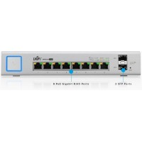 US‑8‑150W, 8Port Managed PoE+ Gigabit Switch with SFP